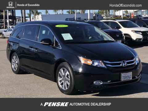 Pre-Owned 2017 Honda Odyssey 5DR VAN TOUR ELTE AT