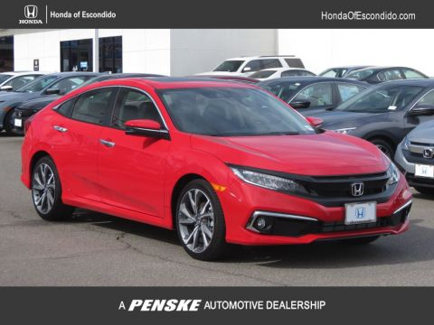 New 2019 Honda Civic Sedan Touring CVT